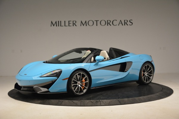 Used 2018 McLaren 570S Spider for sale Sold at Pagani of Greenwich in Greenwich CT 06830 2