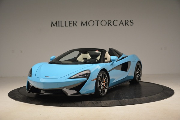 Used 2018 McLaren 570S Spider for sale Sold at Pagani of Greenwich in Greenwich CT 06830 1