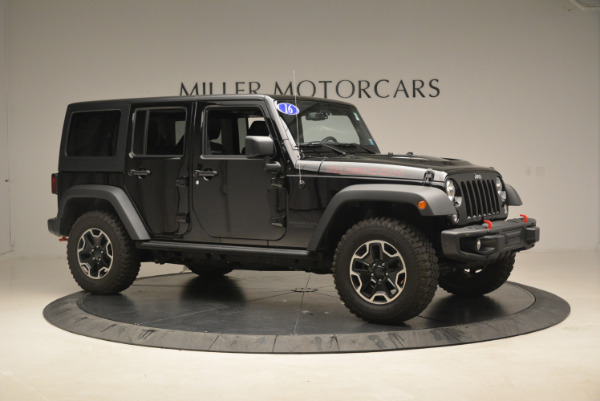 Used 2016 Jeep Wrangler Unlimited Rubicon for sale Sold at Pagani of Greenwich in Greenwich CT 06830 10