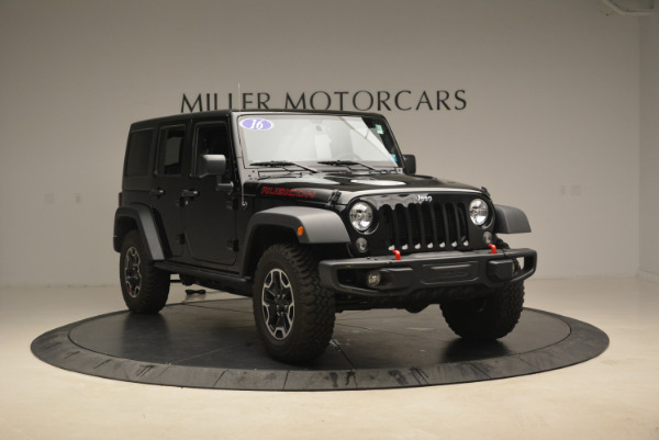 Used 2016 Jeep Wrangler Unlimited Rubicon for sale Sold at Pagani of Greenwich in Greenwich CT 06830 11