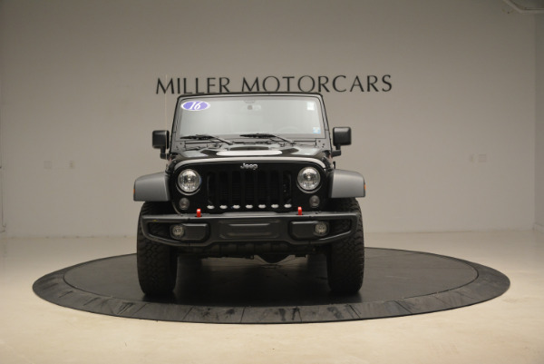 Used 2016 Jeep Wrangler Unlimited Rubicon for sale Sold at Pagani of Greenwich in Greenwich CT 06830 12