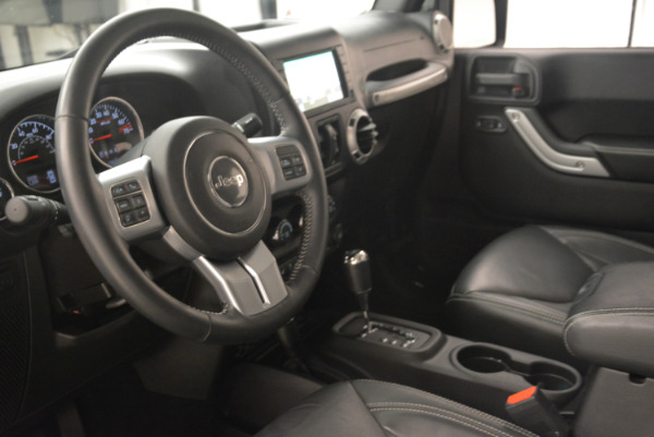 Used 2016 Jeep Wrangler Unlimited Rubicon for sale Sold at Pagani of Greenwich in Greenwich CT 06830 13