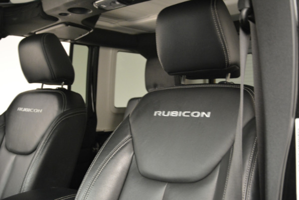 Used 2016 Jeep Wrangler Unlimited Rubicon for sale Sold at Pagani of Greenwich in Greenwich CT 06830 15