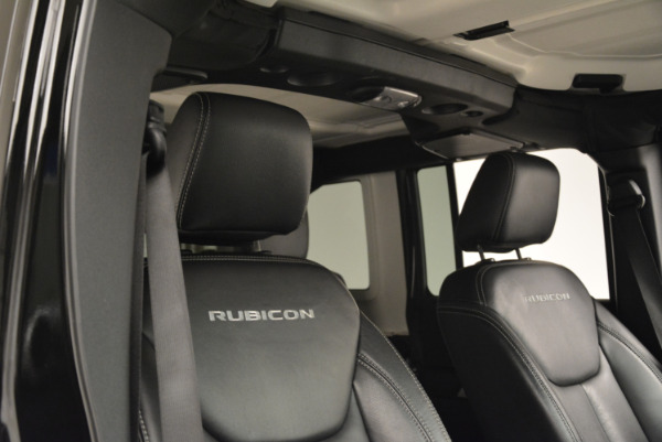 Used 2016 Jeep Wrangler Unlimited Rubicon for sale Sold at Pagani of Greenwich in Greenwich CT 06830 20