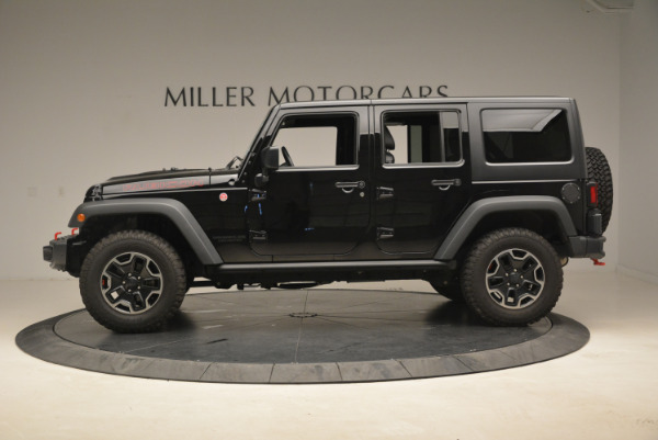 Used 2016 Jeep Wrangler Unlimited Rubicon for sale Sold at Pagani of Greenwich in Greenwich CT 06830 3