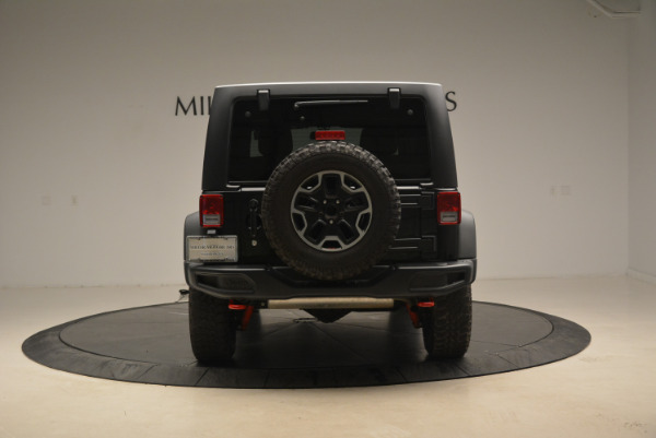 Used 2016 Jeep Wrangler Unlimited Rubicon for sale Sold at Pagani of Greenwich in Greenwich CT 06830 6