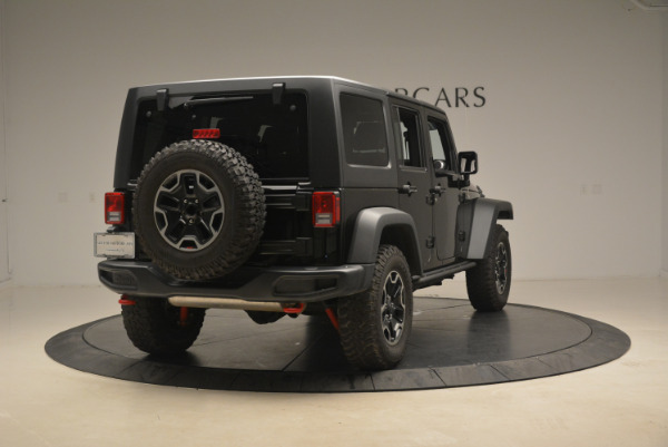 Used 2016 Jeep Wrangler Unlimited Rubicon for sale Sold at Pagani of Greenwich in Greenwich CT 06830 7