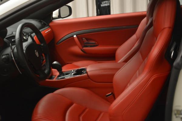 Used 2015 Maserati GranTurismo Sport for sale Sold at Pagani of Greenwich in Greenwich CT 06830 14