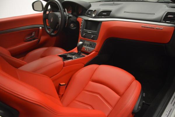 Used 2015 Maserati GranTurismo Sport for sale Sold at Pagani of Greenwich in Greenwich CT 06830 19