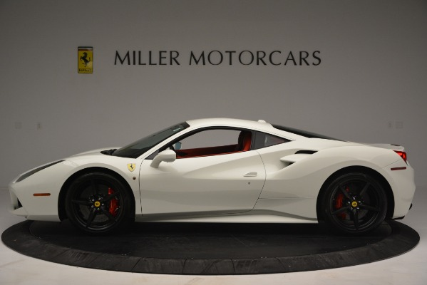 Used 2017 Ferrari 488 GTB for sale Sold at Pagani of Greenwich in Greenwich CT 06830 3