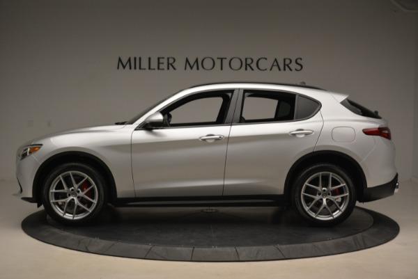 New 2018 Alfa Romeo Stelvio Ti Sport Q4 for sale Sold at Pagani of Greenwich in Greenwich CT 06830 3