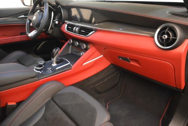 New 2018 Alfa Romeo Stelvio Quadrifoglio for sale Sold at Pagani of Greenwich in Greenwich CT 06830 19