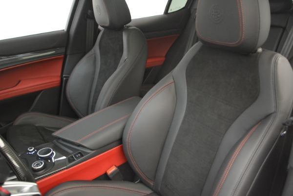 New 2018 Alfa Romeo Stelvio Quadrifoglio for sale Sold at Pagani of Greenwich in Greenwich CT 06830 16