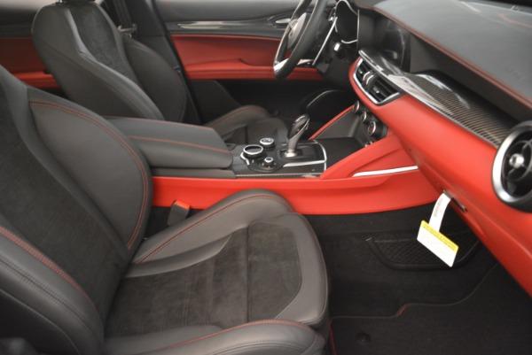 New 2018 Alfa Romeo Stelvio Quadrifoglio for sale Sold at Pagani of Greenwich in Greenwich CT 06830 21