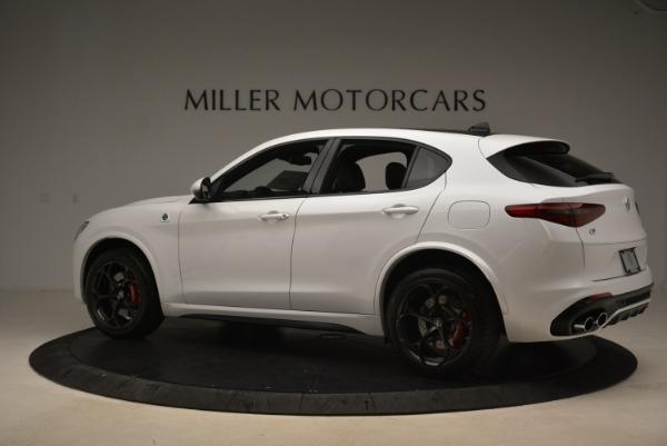 New 2018 Alfa Romeo Stelvio Quadrifoglio for sale Sold at Pagani of Greenwich in Greenwich CT 06830 4