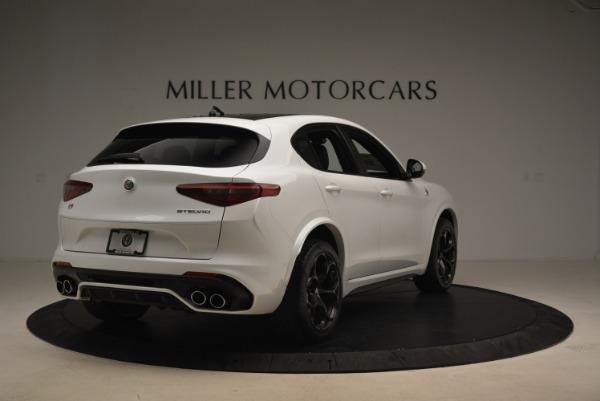New 2018 Alfa Romeo Stelvio Quadrifoglio for sale Sold at Pagani of Greenwich in Greenwich CT 06830 7