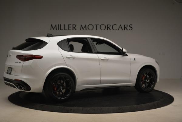 New 2018 Alfa Romeo Stelvio Quadrifoglio for sale Sold at Pagani of Greenwich in Greenwich CT 06830 8