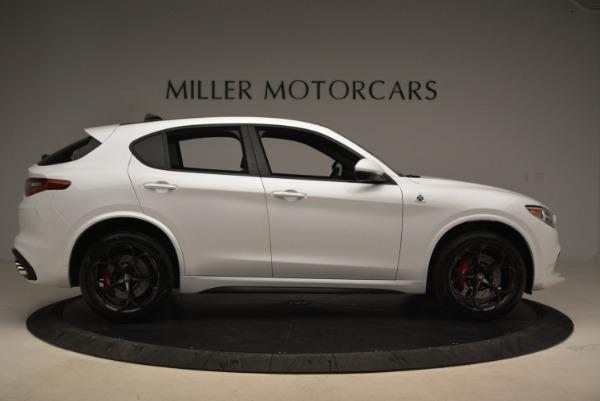New 2018 Alfa Romeo Stelvio Quadrifoglio for sale Sold at Pagani of Greenwich in Greenwich CT 06830 9