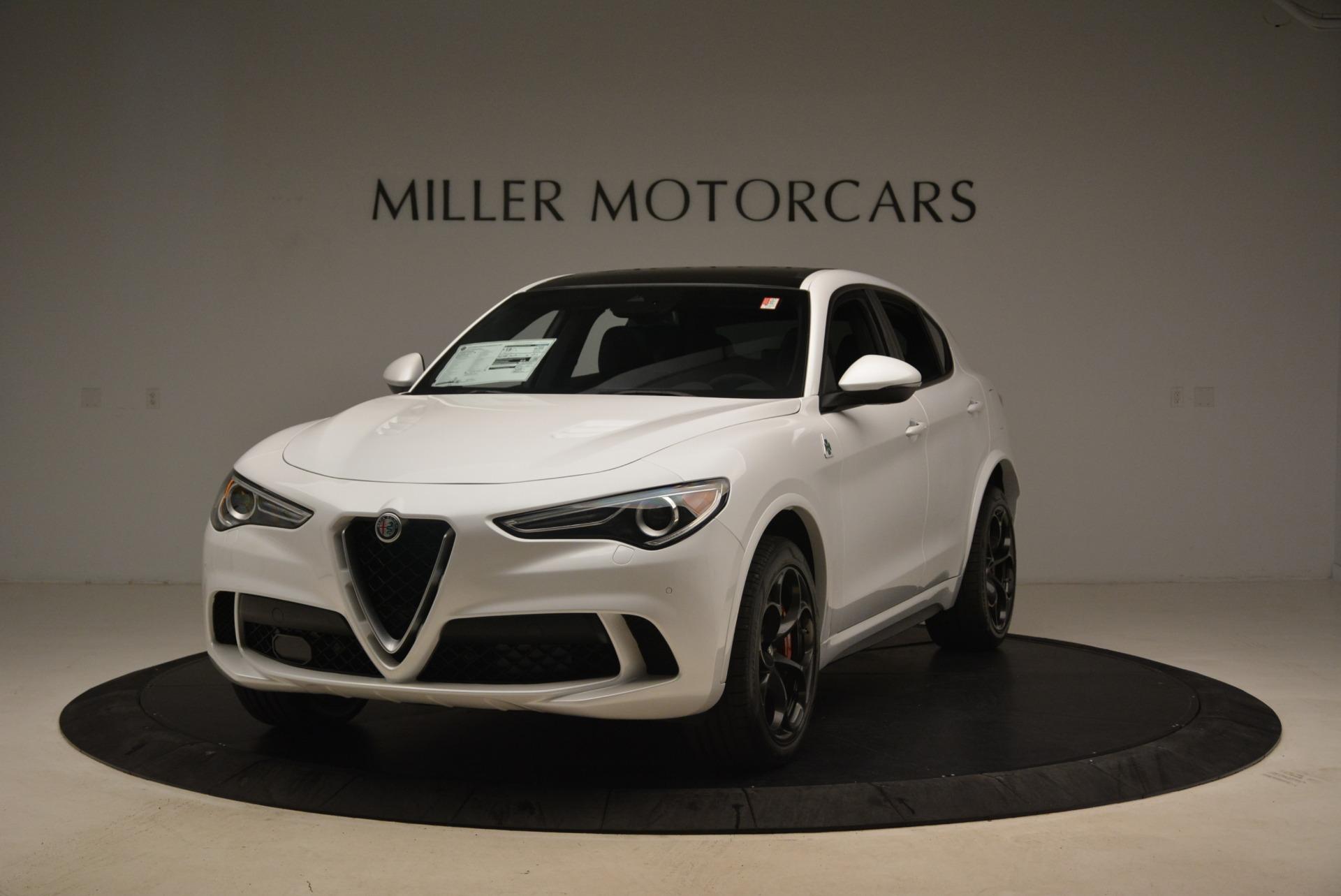New 2018 Alfa Romeo Stelvio Quadrifoglio for sale Sold at Pagani of Greenwich in Greenwich CT 06830 1