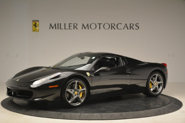 Used 2013 Ferrari 458 Spider for sale Sold at Pagani of Greenwich in Greenwich CT 06830 14