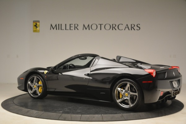 Used 2013 Ferrari 458 Spider for sale Sold at Pagani of Greenwich in Greenwich CT 06830 4