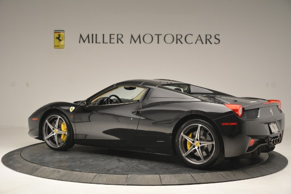 Used 2014 Ferrari 458 Spider for sale Sold at Pagani of Greenwich in Greenwich CT 06830 16