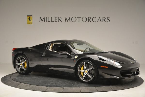 Used 2014 Ferrari 458 Spider for sale Sold at Pagani of Greenwich in Greenwich CT 06830 22