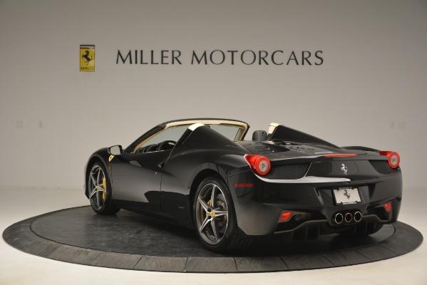 Used 2014 Ferrari 458 Spider for sale Sold at Pagani of Greenwich in Greenwich CT 06830 5