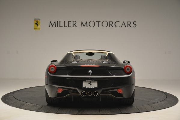 Used 2014 Ferrari 458 Spider for sale Sold at Pagani of Greenwich in Greenwich CT 06830 6
