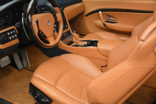 Used 2014 Maserati GranTurismo Sport for sale Sold at Pagani of Greenwich in Greenwich CT 06830 24