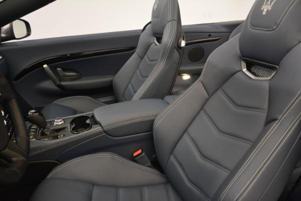 New 2018 Maserati GranTurismo Sport Convertible for sale Sold at Pagani of Greenwich in Greenwich CT 06830 16