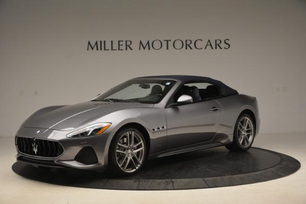 New 2018 Maserati GranTurismo Sport Convertible for sale Sold at Pagani of Greenwich in Greenwich CT 06830 2
