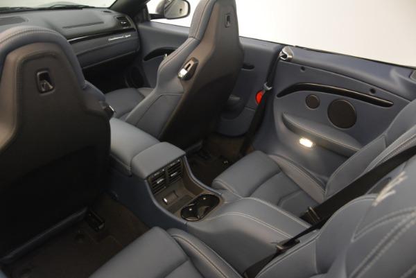 New 2018 Maserati GranTurismo Sport Convertible for sale Sold at Pagani of Greenwich in Greenwich CT 06830 20
