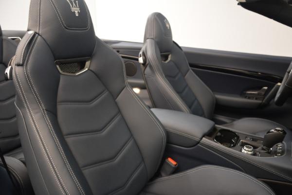New 2018 Maserati GranTurismo Sport Convertible for sale Sold at Pagani of Greenwich in Greenwich CT 06830 24