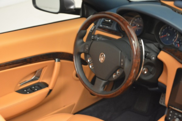 New 2018 Maserati GranTurismo Sport Convertible for sale Sold at Pagani of Greenwich in Greenwich CT 06830 15
