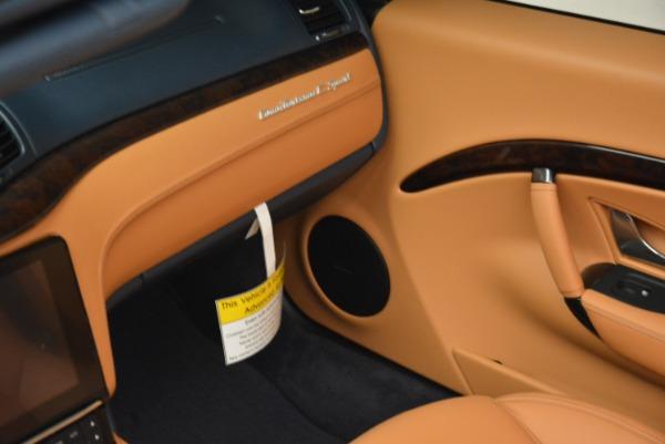 New 2018 Maserati GranTurismo Sport Convertible for sale Sold at Pagani of Greenwich in Greenwich CT 06830 17
