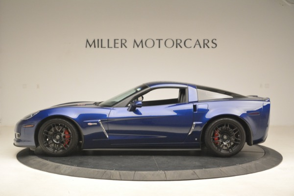 Used 2006 Chevrolet Corvette Z06 for sale Sold at Pagani of Greenwich in Greenwich CT 06830 3