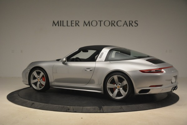 Used 2017 Porsche 911 Targa 4S for sale Sold at Pagani of Greenwich in Greenwich CT 06830 16