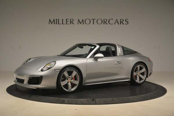 Used 2017 Porsche 911 Targa 4S for sale Sold at Pagani of Greenwich in Greenwich CT 06830 2