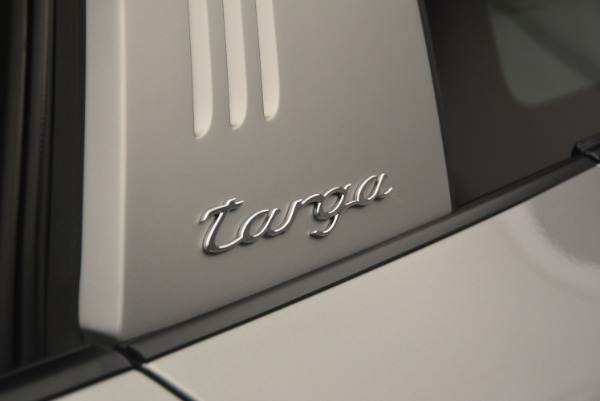 Used 2017 Porsche 911 Targa 4S for sale Sold at Pagani of Greenwich in Greenwich CT 06830 27