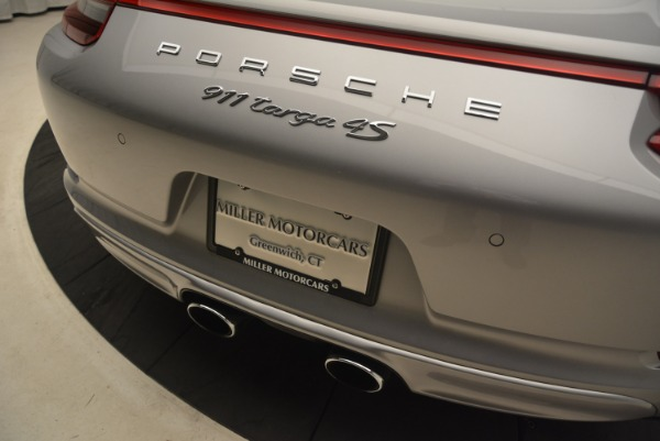 Used 2017 Porsche 911 Targa 4S for sale Sold at Pagani of Greenwich in Greenwich CT 06830 28