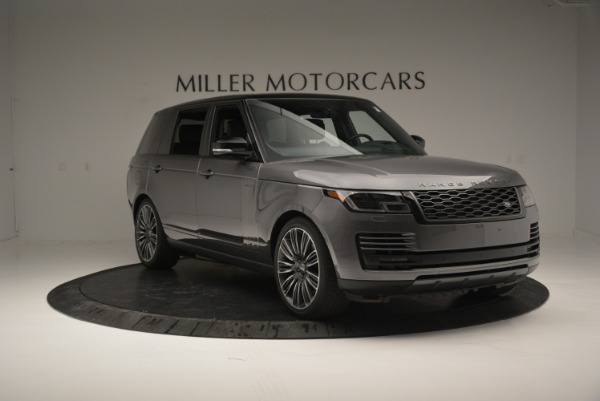 Used 2018 Land Rover Range Rover Supercharged LWB for sale Sold at Pagani of Greenwich in Greenwich CT 06830 11