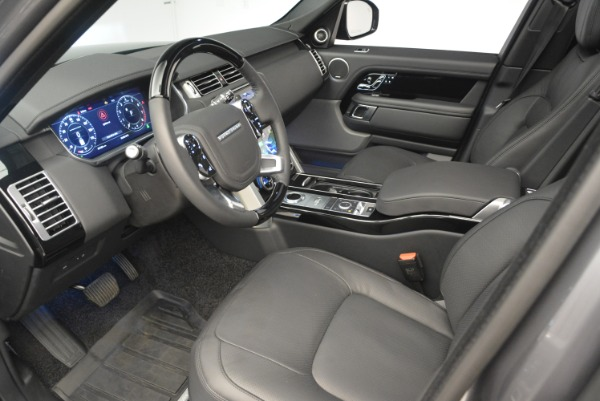 Used 2018 Land Rover Range Rover Supercharged LWB for sale Sold at Pagani of Greenwich in Greenwich CT 06830 17