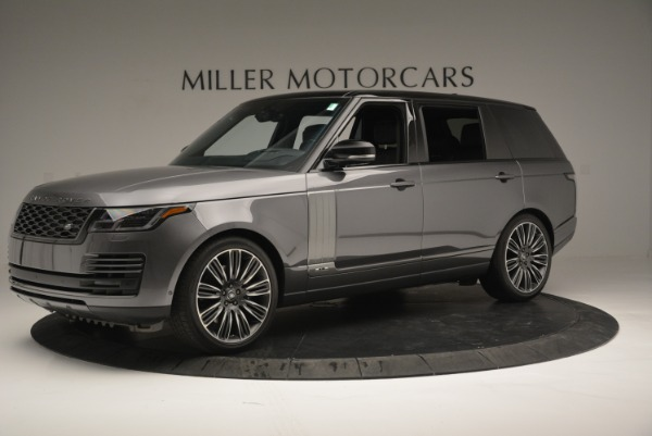 Used 2018 Land Rover Range Rover Supercharged LWB for sale Sold at Pagani of Greenwich in Greenwich CT 06830 2