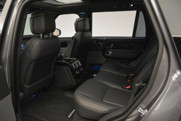 Used 2018 Land Rover Range Rover Supercharged LWB for sale Sold at Pagani of Greenwich in Greenwich CT 06830 20