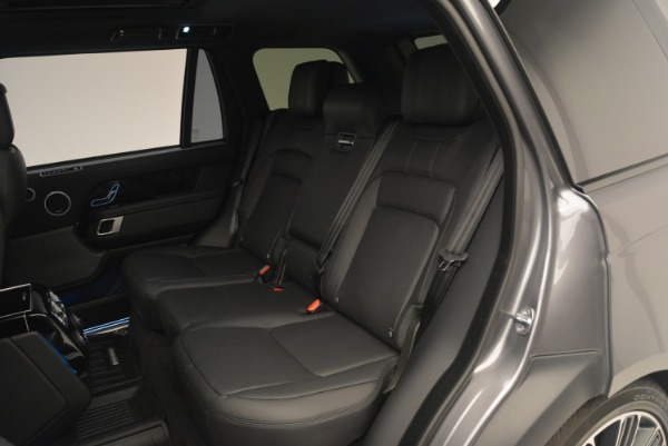 Used 2018 Land Rover Range Rover Supercharged LWB for sale Sold at Pagani of Greenwich in Greenwich CT 06830 21