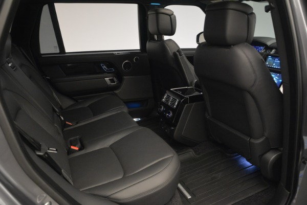 Used 2018 Land Rover Range Rover Supercharged LWB for sale Sold at Pagani of Greenwich in Greenwich CT 06830 26