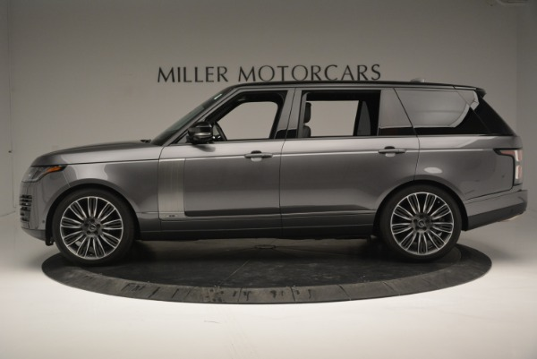 Used 2018 Land Rover Range Rover Supercharged LWB for sale Sold at Pagani of Greenwich in Greenwich CT 06830 3