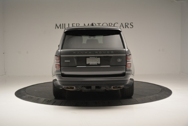 Used 2018 Land Rover Range Rover Supercharged LWB for sale Sold at Pagani of Greenwich in Greenwich CT 06830 6
