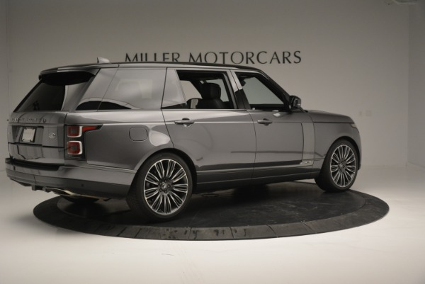 Used 2018 Land Rover Range Rover Supercharged LWB for sale Sold at Pagani of Greenwich in Greenwich CT 06830 8
